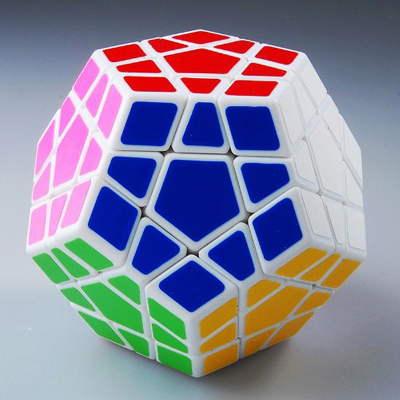 Shengshou Megaminx Magic Cube Speed Puzzle Cubes Cubo Magico Kids Toys Anti Stress Brain Teaser IQ Learning Educational Toys (1)