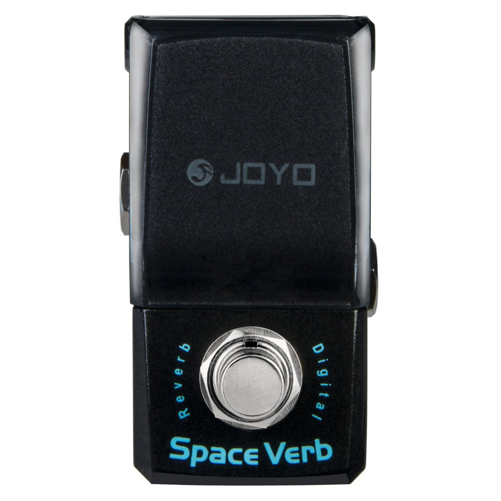 JOYO JF-317 Space Verb Digital Reverb Mini Electric Guitar Effect Pedal with Knob Guard True Bypass Guitar Accessories joyo ironman orange juice amp simulator electric guitar effect pedal true bypass jf 310 with free 3m cable