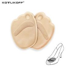 KOTLIKOFF 4D jastekë mbështetës të harkut të përparme të harkut të futur në këmbë fut këpucë çorape të markës grua çorape të larta këpucë aksesorë