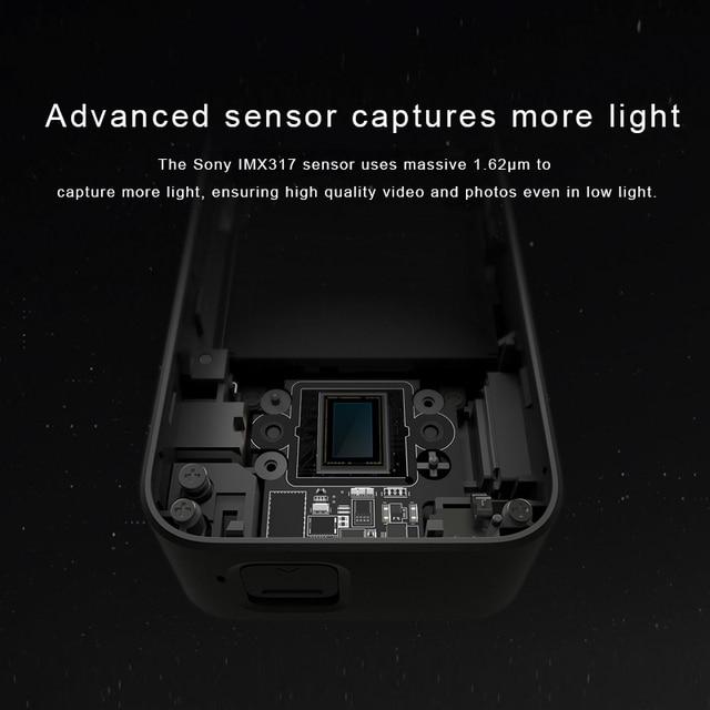Original Xiaomi Mijia MI Action Camera 4K / 30FPS Ambarella A12S75 Smart Mini Sports Cam Bluetooth EIS WiFi 2.4 5
