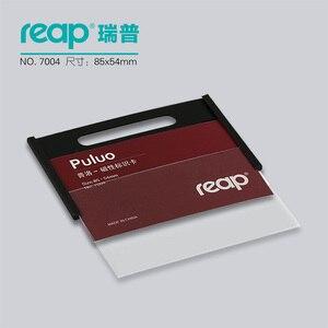 "Image 3 - 10 יחידות/1 מארז ABS 90*54 מ""מ Reap7004 תגי מגנט בעל תג כרטיס תג שם מגנטי מזהה עבודת מחזיקי כרטיס עובד"