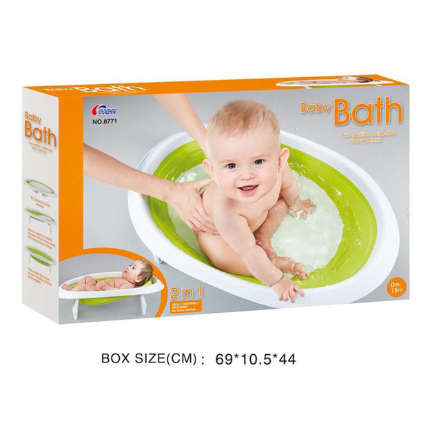 Online Shop 2 In 1 Foldable Newborn Baby Bathtub Baby Sitting ...