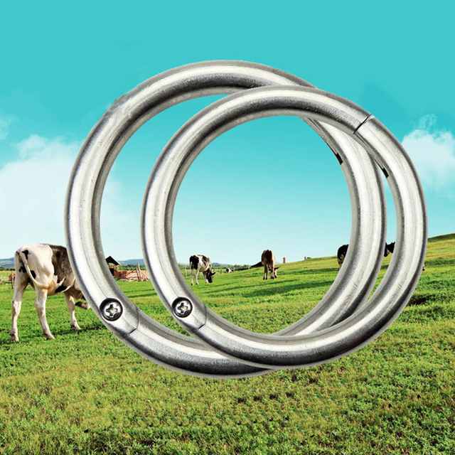 Free Shipping Large Number of Ox Nose Ring Nose Ring Cattle Baoding Machine Cow Nose Clip Cow Nose Ring Cattle with Instrument15