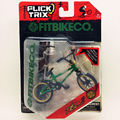 Newest Flick Trix Finger bike GREEN Bmx Diecast Nickel Alloy Stents Professional Finger Bicycle Novelty Mini Toys