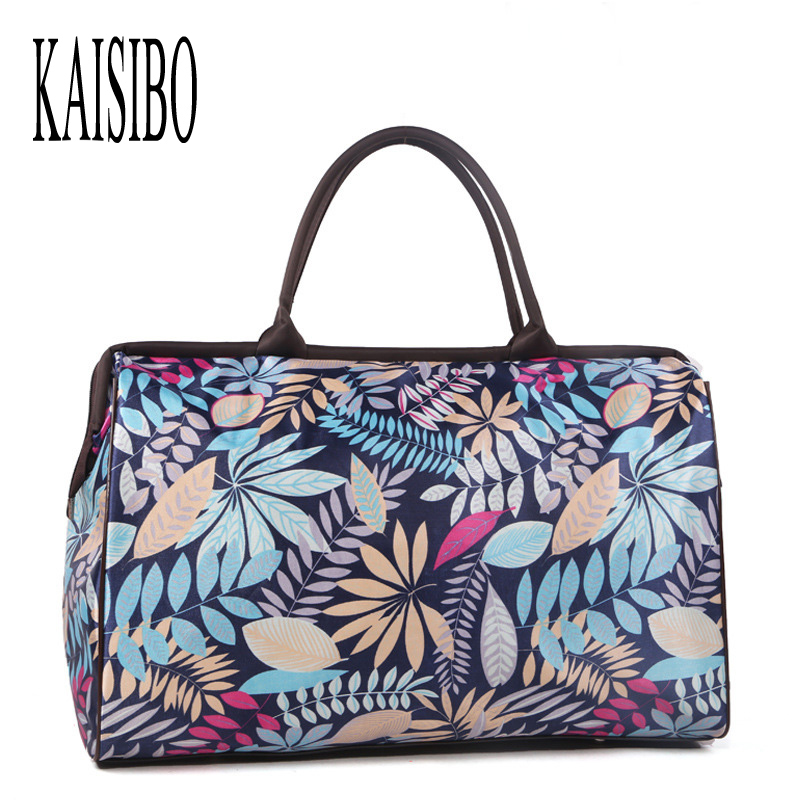 KAISIBO New Women Travel Bags Casual Fashion Large Capacity Women Luggage Travel Duffle Bag Waterproof Luggage bolsa viagem new women travel bags fashion printed canvas large capacity waterproof trip luggage duffle bag casual travel shoulder bags dh11