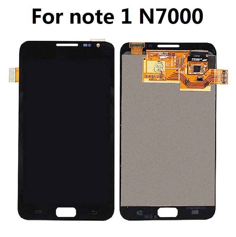 For Samsung Galaxy Note 1 N7000 Display LCD Screen Touch Digitizer Sensor Assembly 5.3 inch