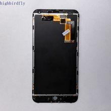 Highbirdfly For Meizu M1 Note M463U Lcd Screen Display+Touch Glass Digitizer Frame Assembly Repair broken Pantalla
