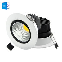 Super Bright Recessed LED COB Downlight 5W 7W 9W 12W LED Spot Light LED Ceiling Lamp