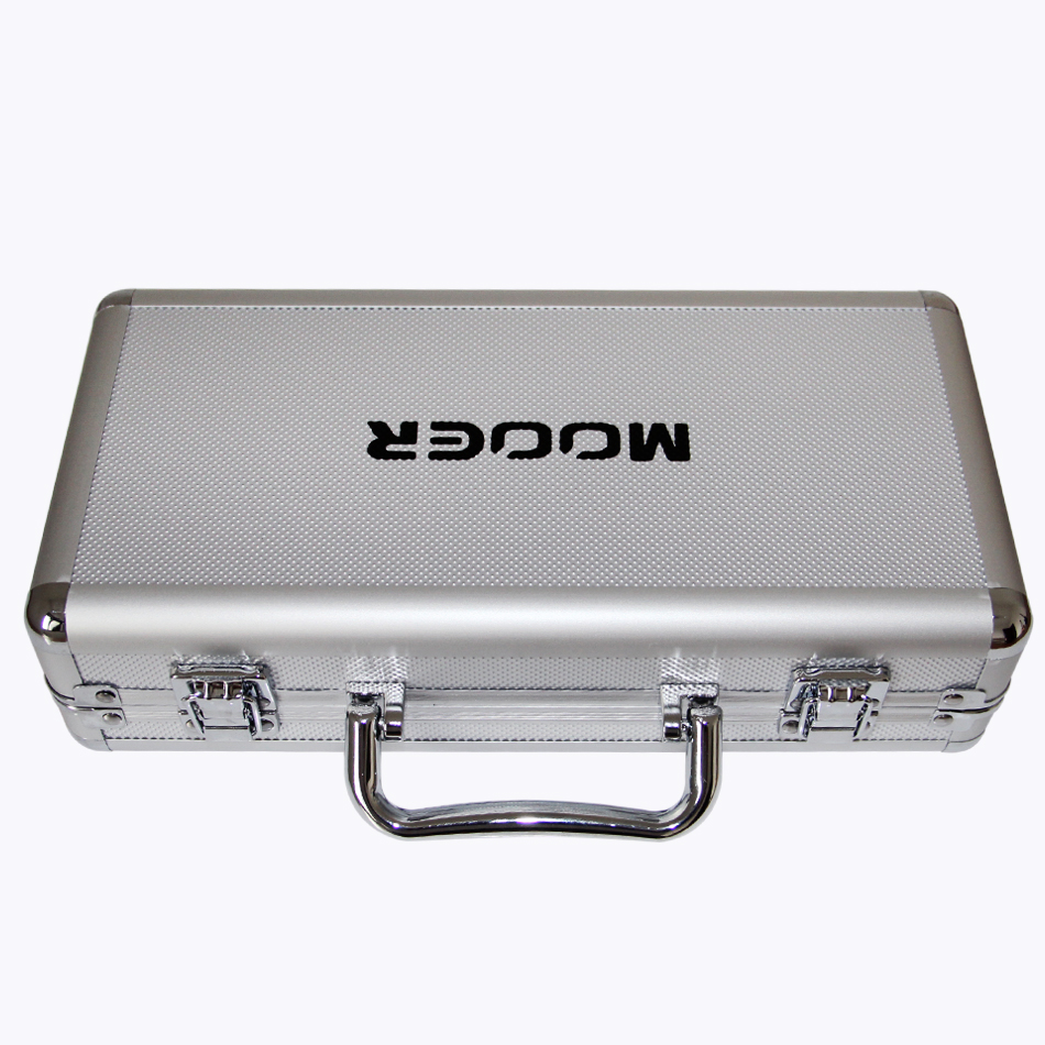 Mooer Firefly M4 Flight Case for 4 Micro Series Pedals or 3 MICRO Pedals& 1 Mini Series Pedals Easier to Carry