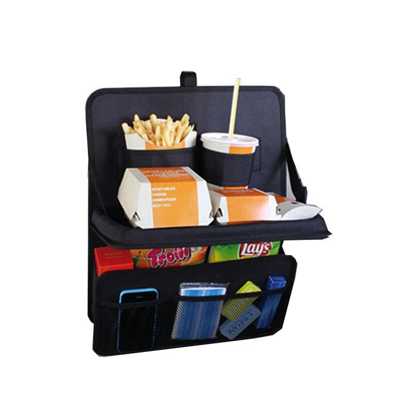 Bērnu galda soma automašīnu aizmugurējā sēdekļa maisiņam un grūtnieces kopšanai