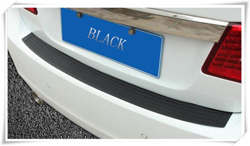 تصفيف السيارة المطاط حارس المصد الخلفي الحامي trim تغطية ل geely رؤية sc5 sc7 mk ck عبر gleagle englon sc3 SC7 sc6 SC7