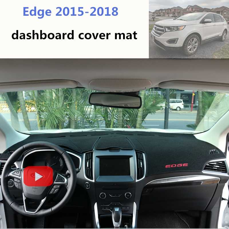 Ford Edge Dashboard Carpet Fits Ford Edge 2015 2016 2017 2018 Dashboard Carpet