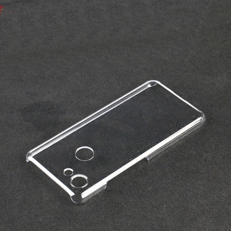 10Pcs/Lot.Transparent Crystal Clear Slim Hard Protective Case For GOOGLE Pixel 3/Pixel 3 XL