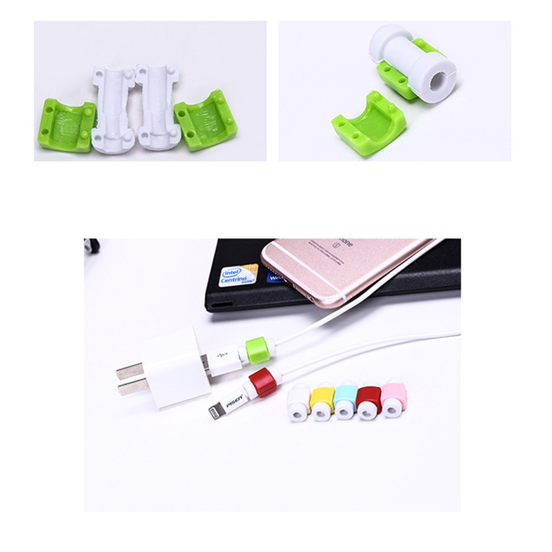 Simple Cute Cable Protector Data Line Cord Protector Protective Case Cable Winder Cover