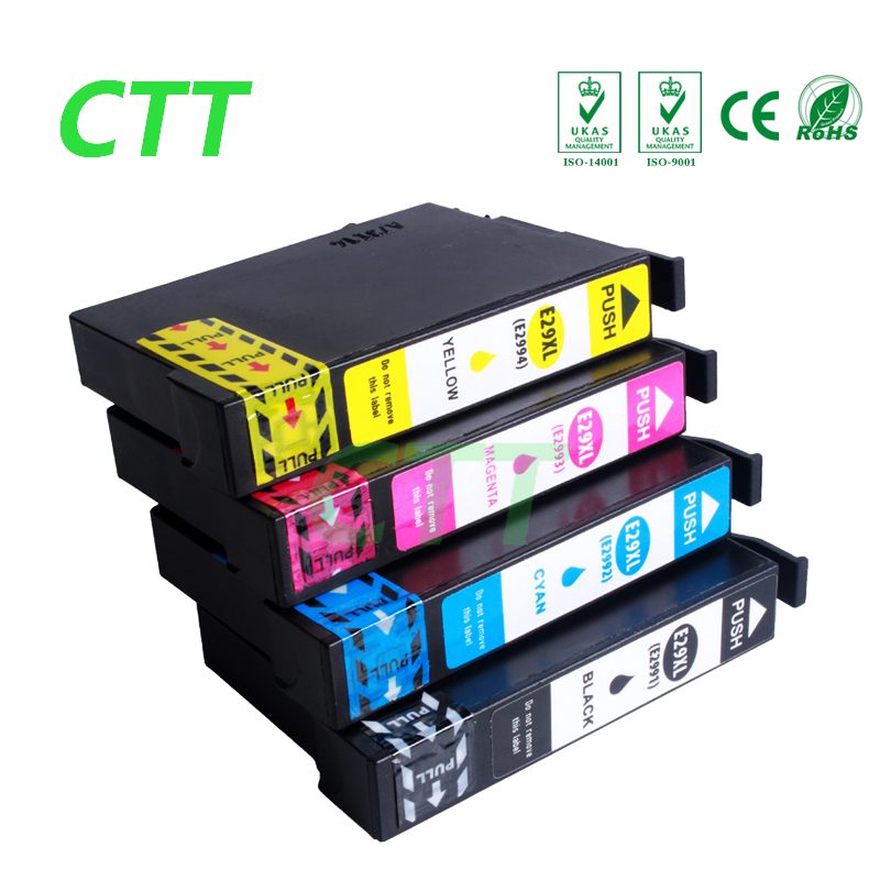 4pcs T2991 Compatible ink cartridge for Epson 29XL T2991 T2992 T2993 T2994 for Epson XP 332