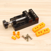 Hot Duty Multi Function Aluminum Alloy Small Vise Fixture Precision Clamping Irregular Round Square Hardware Tools