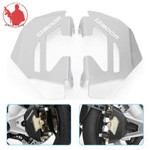 R1200R 1 Pair Aluminum Alloy Front Brake Caliper Guard Protector Cover For BMW R 1200R LC R1200 R 2015-2016 R 1200 R LC for bmw r 1200gs r 1200gs adventure r 1200r r 1200s r 1200st front brake clutch reservoir cover