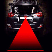Anti Collision Rear-end Car Laser Tail Fog Light Auto Brake Parking Lamp Rearing Warning Light