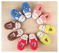 Дети / Enfant зимняя овец животных мальчиков / девочек домашние тапочки обувь флис non-slip Pantofole / Pantoufle / Chausson / Ciabatte ребенок ребенок