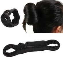 1Pc Beauty Bun Maker Twist Curler Hair Roller Coiffure Hair Braider Magic French Sponge Easy DIY Hair Styling Tools 2 Size