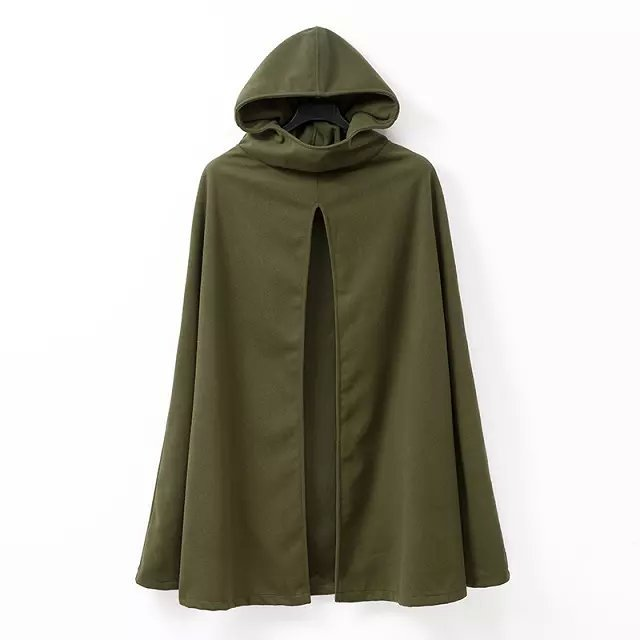 Women Hooded Coat Hooded Cloak Hooded Cape Cosplay Cloak Medieval Costumes Adult Size