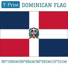 The Dominican Republic National Flag 3x5ft Hanging Flag  90*150cm/60*90cm/15*21cm/30*45cm Car Flag