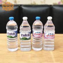 Mini Toys Water Bottle Food Play House Dollhouse Mineral 1/12 Scale Accessories Dolls Decoration Childrens