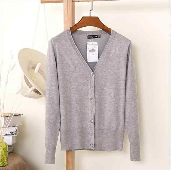 Summer Style Cardigan Women Casual Sweet Crochet Knitted Blouse Long-sleeve Tops Women long Sweaters Black/White Cardigans Q138