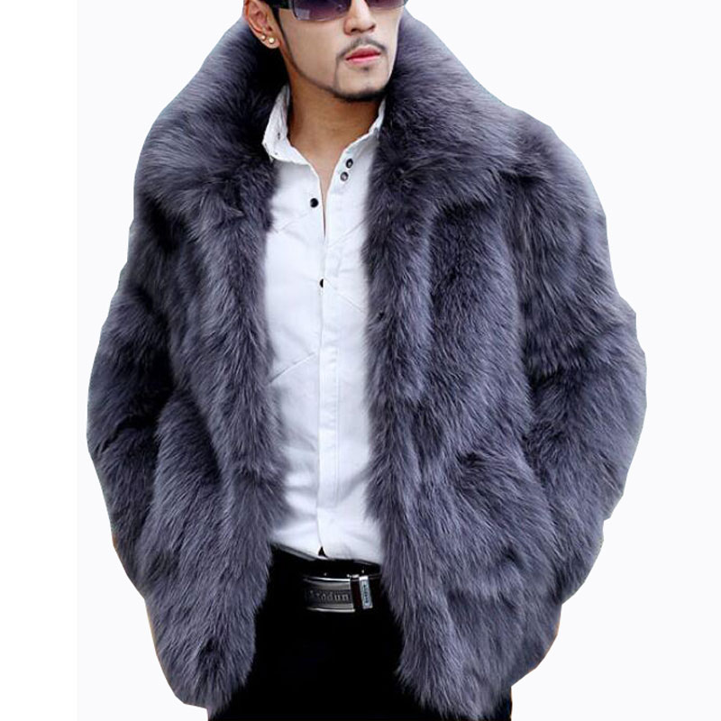 Shop for men's faux fur coats and jackets, hooded faux fur jackets, bomber jackets and coats with faux fur lining available in sable, mink, fox and coyote.