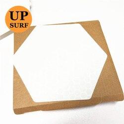 Surf Pad 20 blätter eine box Freies verschiffen wachsfreien hexagon honeycomb surfbrett deck traktion pad Surf matte Surfbrett zubehör