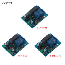 цена OOTDTY AC 220V Adjustable Timer Delay Switch Turn On/Off Time Relay Module онлайн в 2017 году
