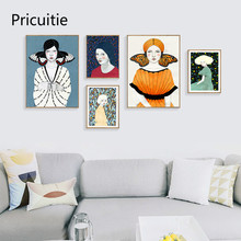 Nordic Art Figure Painting Canvas Posters Prints Wall Pictures For Living Room Modern Home Decor K042