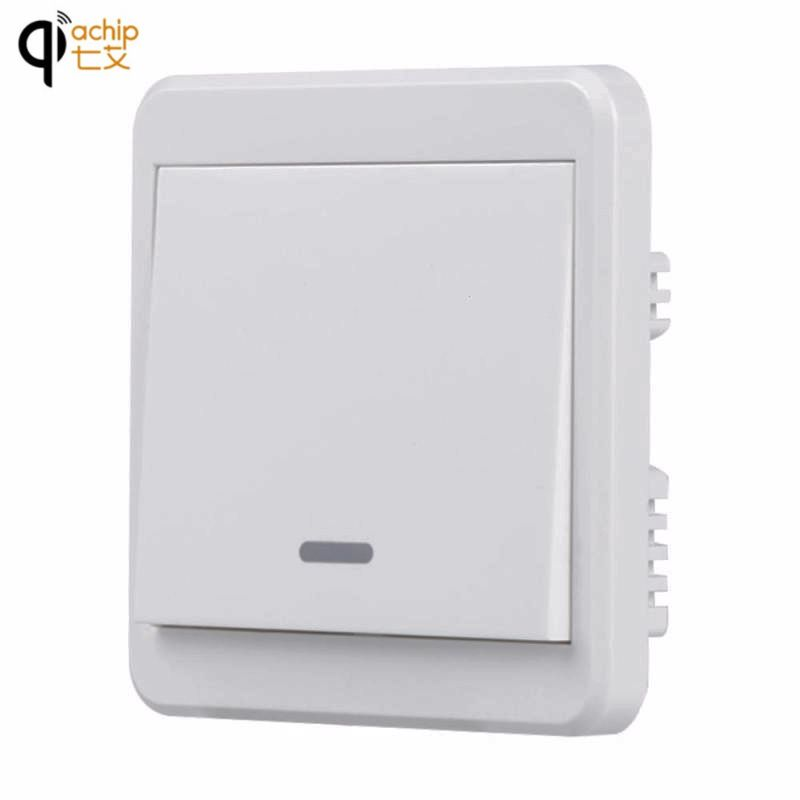 Light Switch Bed Room Lamp LED Bulb AC 220V Remote Switch Wall Remote Transmitter Wireless Light Switch Smart Home Remote Switch manual wireless smart remote control 1ch switch for led lamp ac 220v remote switch electrical curtain light wireless switch
