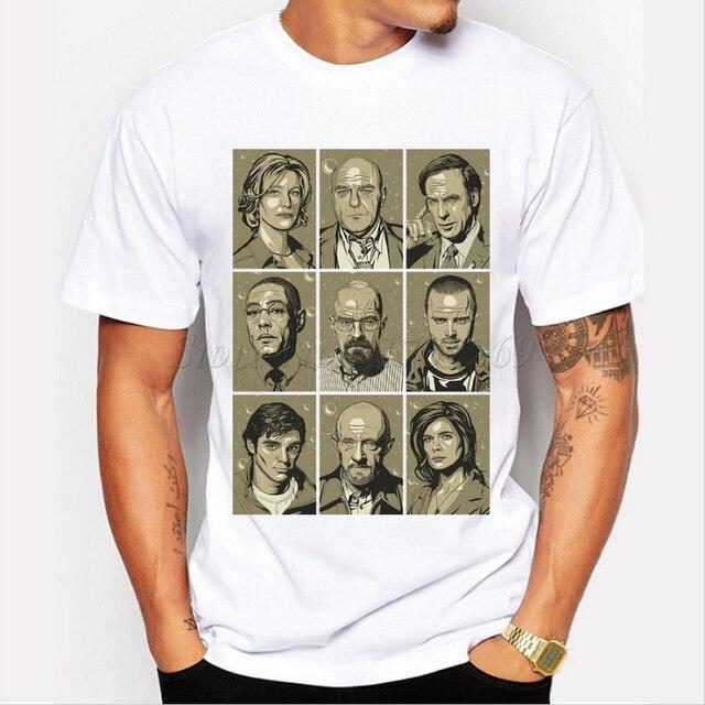 人気男性tシャツ食客のキャラクターレトロプリント男性ファッションtシャツ半袖カジュアルトップスヒップスター面白いクールシャツ