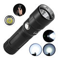 TrustFire DF011 Cree XP-LV6 1000 Lumens 3 Modes Diving Flashlight Torch Light Waterproof Underwater 50m with 1*26650 Battery