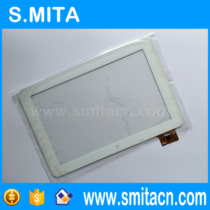 10.1 inch Tablets PC Touch for HKC X106 dual core Replacement Touch Glass White color YTG-P10005-F1 P27378A-LLT V1.0 Digitizer 10 1 inch tablets pc touch for hkc x106 dual core replacement touch glass ytg p10005 f1 p27378a llt v1 1 258x171mm digitizer