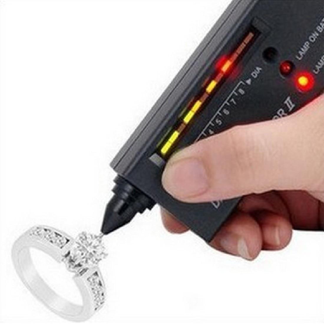 Детектор алмазов электронный Алмазный Селектор драгоценных камней тестер драгоценных камней II ювелирные изделия инструмент