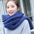Hot 2017 New Autumn Winter Scarf Women Cotton Coarse lines Knitted Scarves Warm Fashion Scarves  XN103