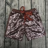 Wholesale Baby Exquisite Sequin Shorts Girls  Bowknot Comfertable Cotton Shorts