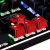 Redragon 12 Keys PBT Double Shot Injection Backlit Metallic Electroplated Red Color Keycaps for Mechanical Switch Keyboards promo
