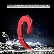 Stereo Headset Bone Conduction Bluetooth Earphones Wireless Waterproof Sports Headphone Driving Earpiece earbuds with Mic