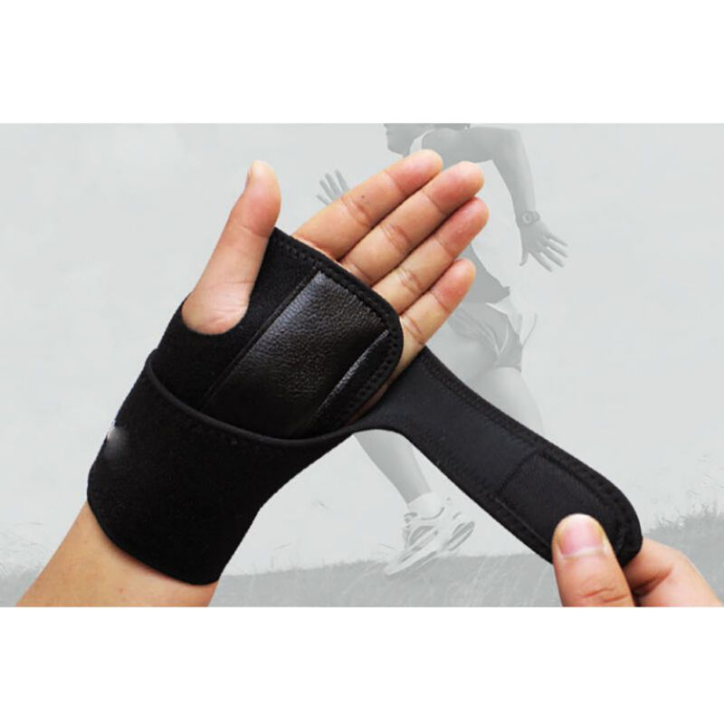 1Pcs Bracelet Useful Splint Sprains Arthritis Band Belt Carpal Tunnel Hand Wrist Support Brace Solid sports safety unisex wrist splint for carpal tunnel