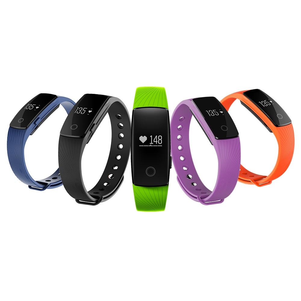 2017 Yeni K107 Bluetooth 4.0 Akıllı Izle Kalp Hızı ve Uyku - Erkek Saatleri - Fotoğraf 6