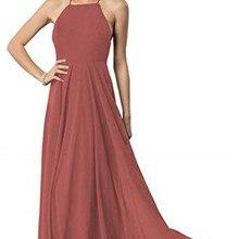 Chiffon Bridesmaid Dress A-line Teal Burgundy Long Floor Len