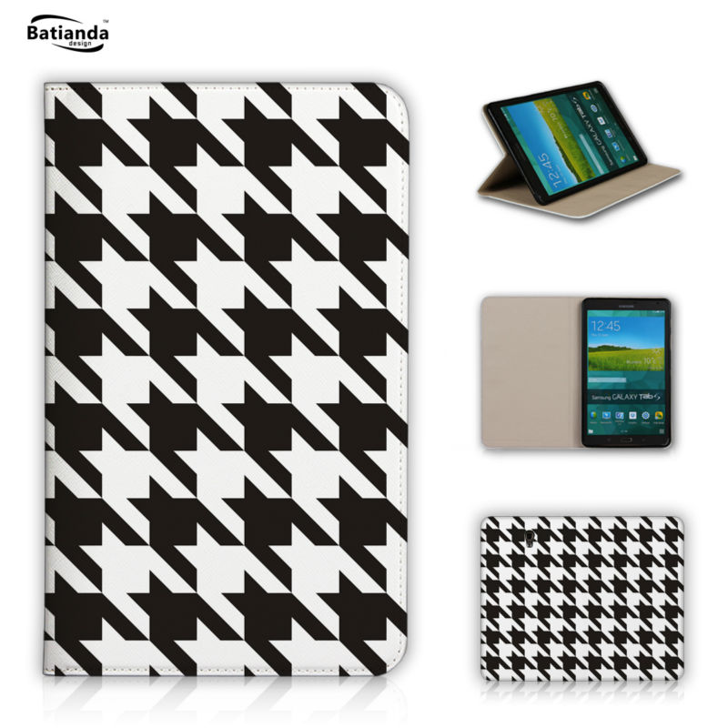 Classical font b Tartan b font Pattern Pu Leather Tablet Case Cover For Samsung Galaxy Tab