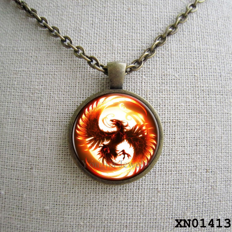 Violin necklace violin pendant violin jewelry music necklace hipster phoenix necklace glass pendant fantasy fire bird a mozeypictures Image collections