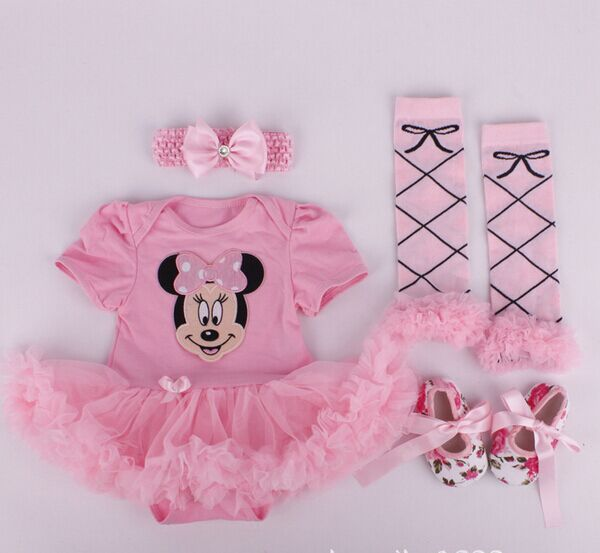 2016 new baby girl clothes newborn girl boutique baby clothing baby girl Christmas outfits sets infant girl tutu jumpsuit