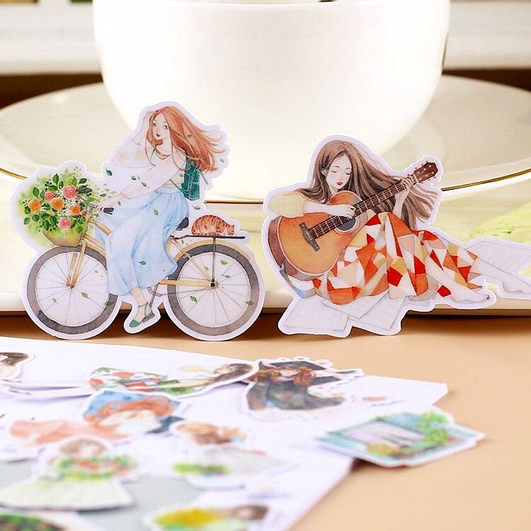 20pcs Creative Kawaii Self-made  Stickers/ Beautiful Stickers /decorative Sticker /DIY Craft Photo Albums