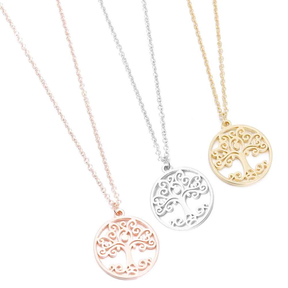 Flower Of Life Mandala Pendant Sacred Geometry  Stainless Steel Spiritual Necklace Women Ancient Egyptian Jewelry