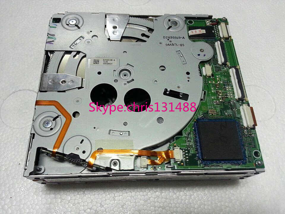 100% новый Alpine 6CD/dvd-чейнджер механизм DZ63G160 правильный PCB для Mercedes COMAND NTG4 NTG 2,5 W211 HDD навигации W204 C класса